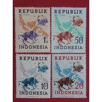 Индонезия 1949г. фауна