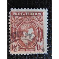 Нигерия.  Король Георг VI. 1938 г.