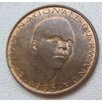 Распродажа! Руанда 5 франков 1965 ОЧЕНЬ РЕДКАЯ. Все монеты с 1 рубля!!