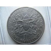 Кения 1 шиллинг 1989 г.