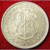 6813:  20 центов 1961 ЮАР