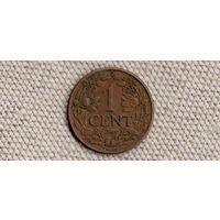 Кюрасао 1 цент 1944(dic)