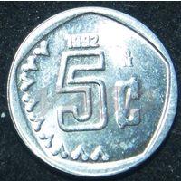 6653: 5 сентаво 1992 Мексика