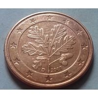 5 евроцентов, Германия 2007 D, AU