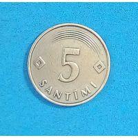 5 сантим Латвия-1992