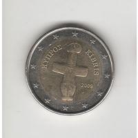 2 евро Кипр 2009 Лот 3649