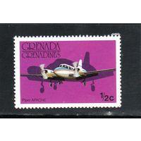 Гренада и Гренадины. Ми-186. Авиация. Самолет Апачи. 1976.