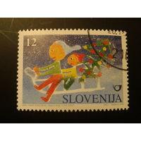 Словения 1996г. Рождество