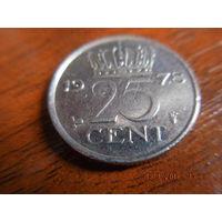 25 центов, Нидерланды, 1978 г.