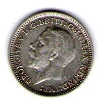 Великобритания 3 пенса 1931 года.