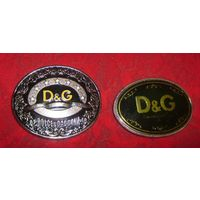 Две пряжки D&G