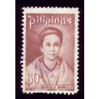1 марка 1973 год Филиппины 1077