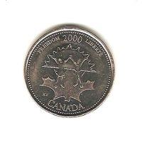 25 центов 2000 г.