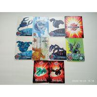 Карточки Бакуган