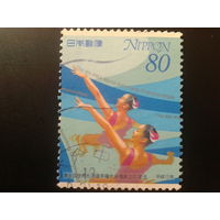 Япония 2001 синхронное плавание