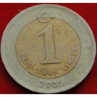 1413:  1 лира 2005 Турция