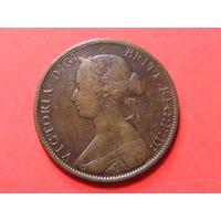 1 цент Новый Брансуик 1864 года