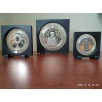 Футляры, рамка, 3D  для монет. N 07. N 16. N 17.