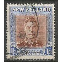 Новая Зеландия. Король Георг VI. 1947г. Mi#296.