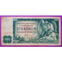 Чехословакия 100 крон 1961 VG