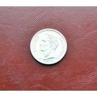 Венесуэла. 1 боливар. 1960г . Серебро 0.835