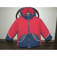 Фирменная  очень теплая Куртка.  Холофайбер.  Германия