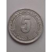 Алжир 5 сантимов 1974,ФАО.  Второй четырёхлетний план.