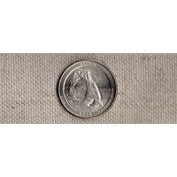 США 25 центов 2014/парки/ Арки ЮТА(Ab)