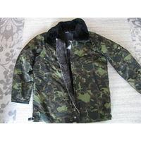"Лётная меховая куртка ""Техноавиа"" р.52-4"