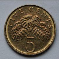 Сингапур, 5 центов 2000 г.