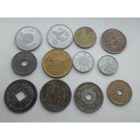 Набор монет старой Японии