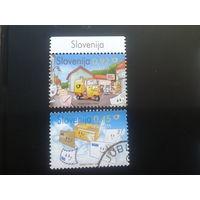 Словения 2008 Европа письмо полная