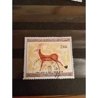1967 Алжир искусство дорогая марка прошедшая почту не спец гашение крайне редко встречается  (4-8)