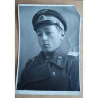 Фото летчика. 1944 г. 8х11.5 см
