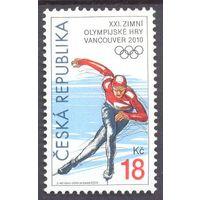 Чехия Олимпиада Ванкувер коньки спорт