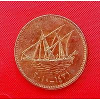 37-06 Кувейт, 10 филсов 2010 г.  Единственное предложение монеты данного типа на АУ