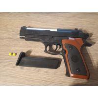Игрушка, детский пистолет с пульками