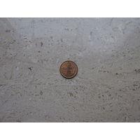 1 цент 1957 Антильские острова (Нидерландские Антилы)*