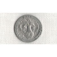 Конго 10 франков 1965 Лев фауна//(МJ)