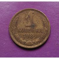 1 копейка 1989 года СССР #07