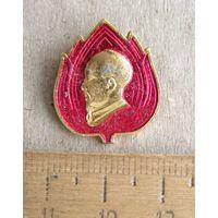 Значок Пионер Вьетнама.  Пионерская организация им. Хо Ши Мина.