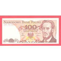 Польша 100 злотых 1986 года.