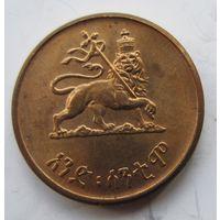 Эфиопия 1 цент 1944 .Император Хайле Селассие I.   .2 С - 85