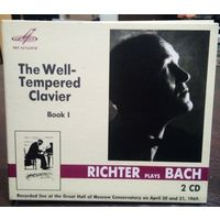 """Richter Plays Bach """"The Well-Tempered Clavier Book I"""""""