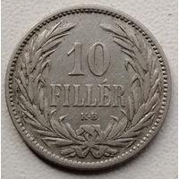 Венгрия 10 филлер 1894