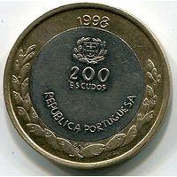 ПОРТУГАЛИЯ - 200 ЭСКУДО 1998 ЭКСПО