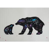 """Картина """"Большая и малая медведица"""""""