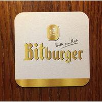 Подставка под пиво Bitburger No 5