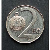 Чехия 2 кроны 1997 г.