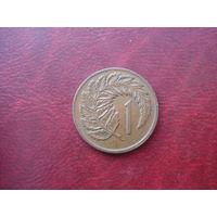 1 цент 1974 год Новая Зеландия
